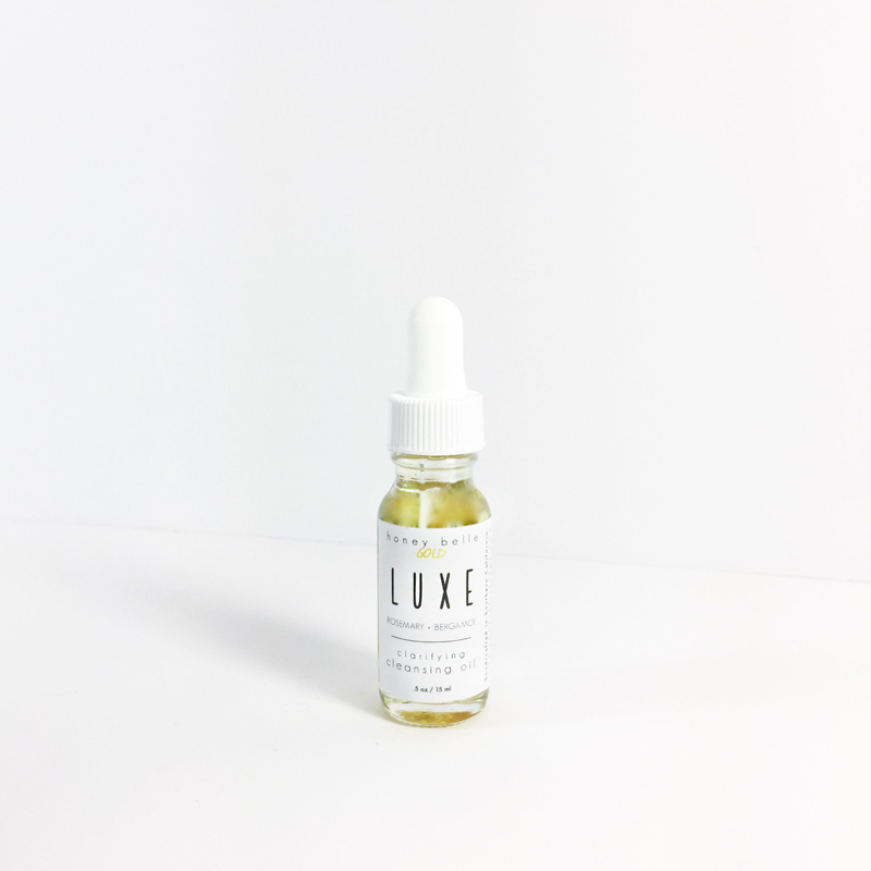 Spa Product - Luxe Cleansing Oil