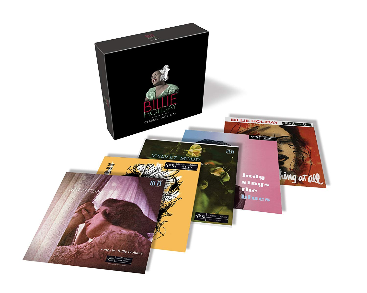 Billie Holiday - Classic Lady Day [5CD Box Set]