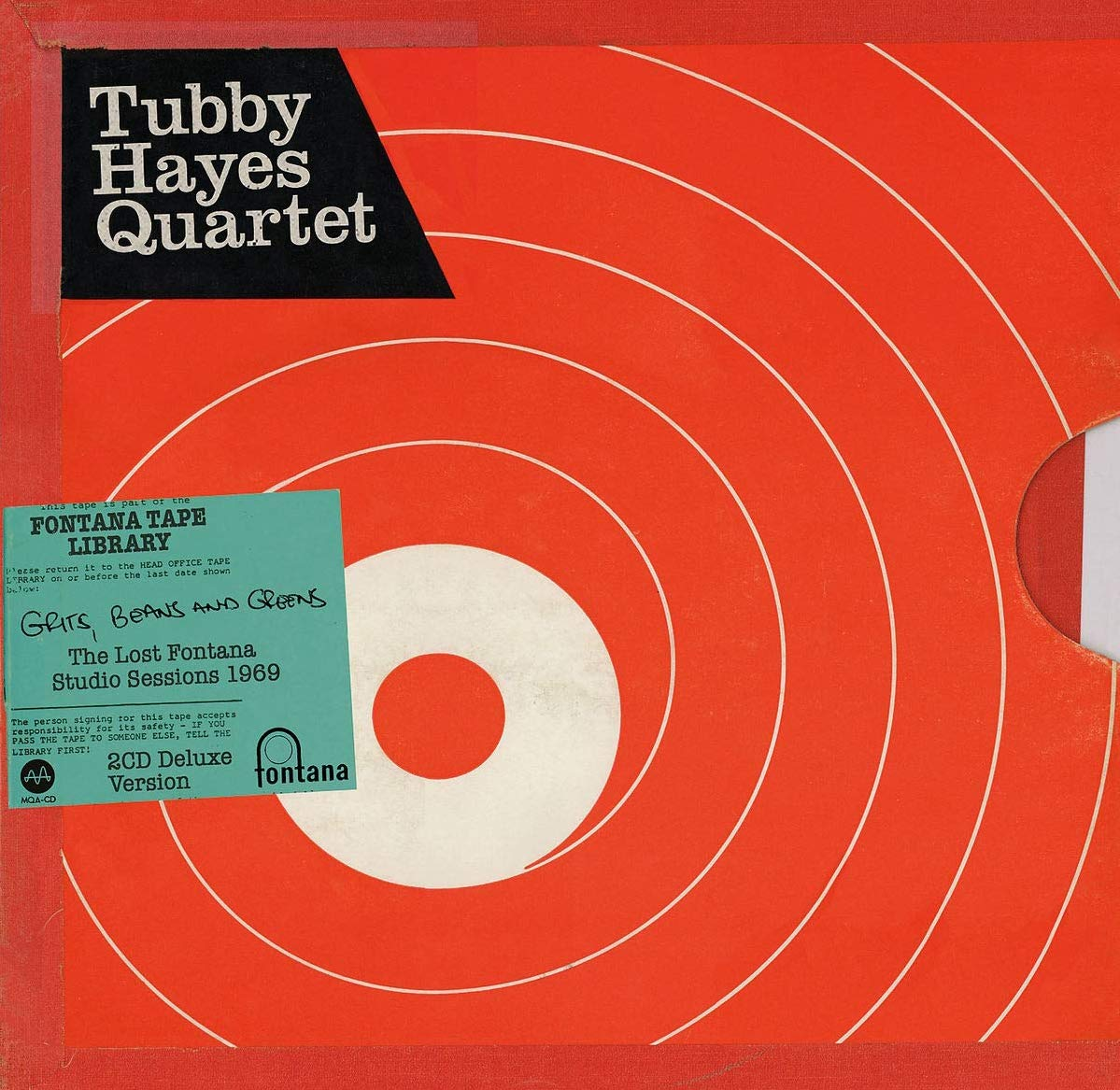 Tubby Hayes - Grits, Beans And Greens: The Lost Fontana Studio Sessions 1969 [2CD]
