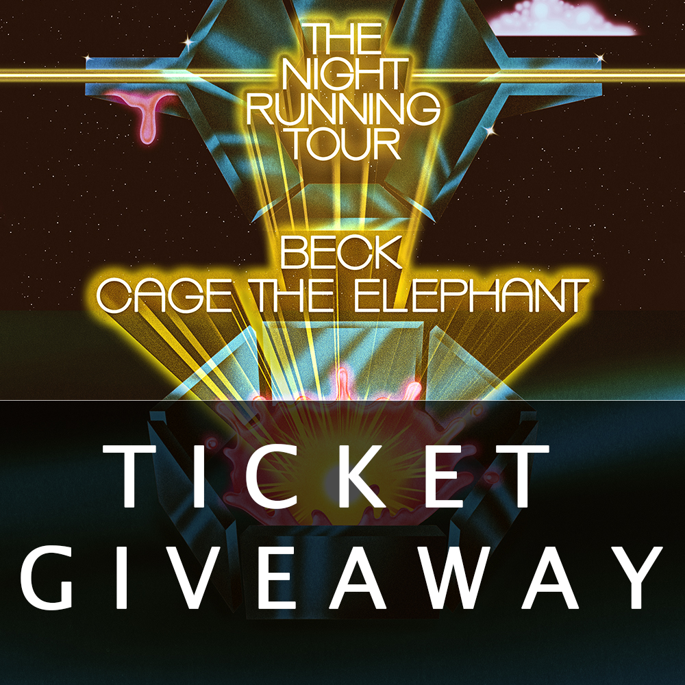 22190301 Enter to win a pair of tickets to see Cage The Elephant and Beck on The  Night Running Tour at The Gorge, July 13th! Don't forget to pick up Cage's  new album ...