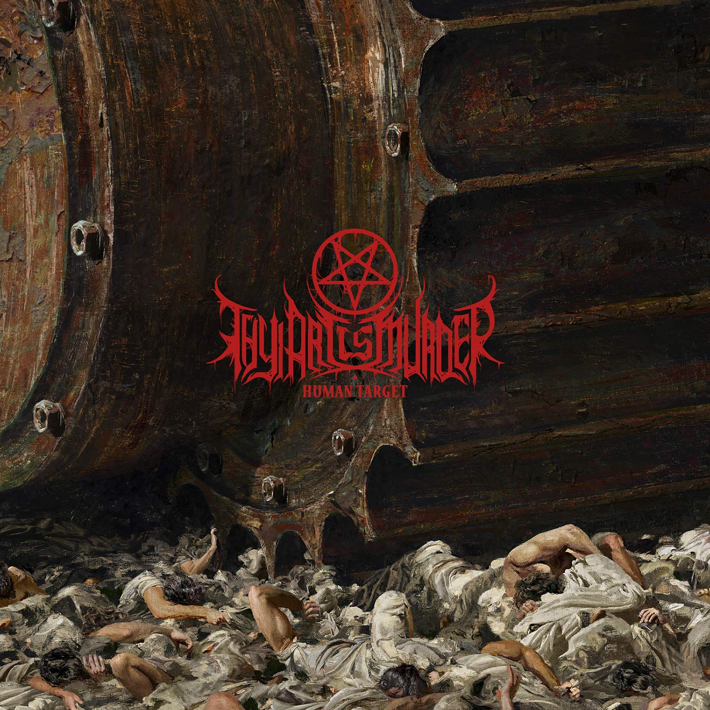 Thy Art Is Murder - Human Target [Import Limited Edition]