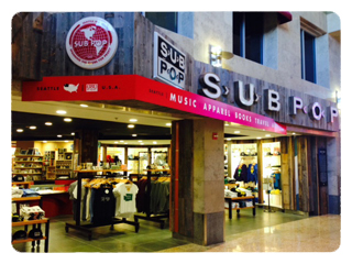 The Sub Pop Airport Store (Seattle, WA)