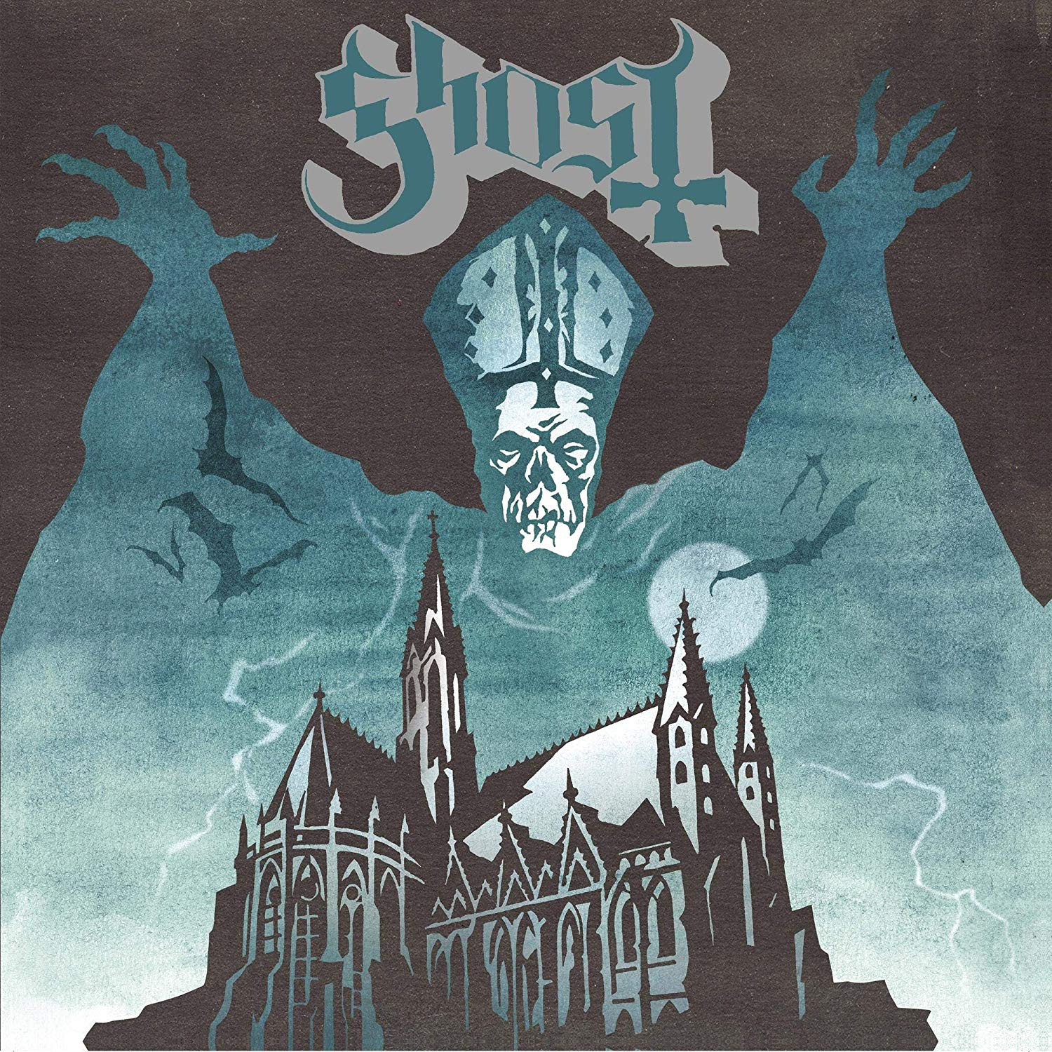 Ghost - Opus Eponymous [Rise Above Records 30th Anniversary Gold Sparkle Edition LP]