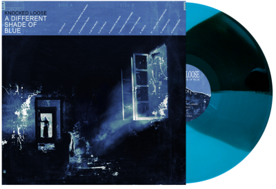 Knocked Loose - A Different Shade Of Blue [Indie Exclusive Limited Edition Black & Cyan Blue Twist LP]