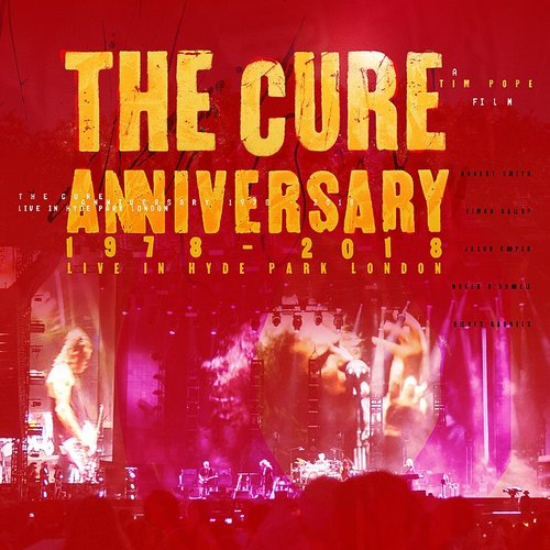 The Cure - Friday I'm In Love (Live) - Single