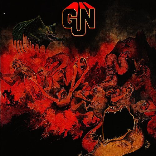 Gun - Gun [Colored Vinyl] [Limited Edition] [180 Gram] (Red) (Slv) (Hol)