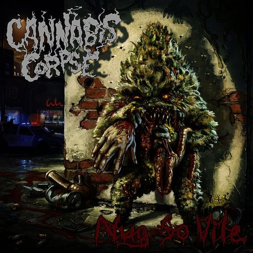 Cannabis Corpse - Blunt Force Domain - Single
