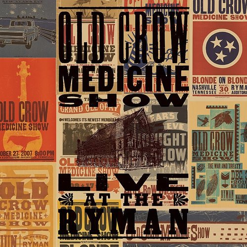 Old Crow Medicine Show - Sixteen Tons (Live At The Ryman) - Single