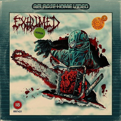 Exhumed - Naked, Screaming, And Covered In Blood - Single