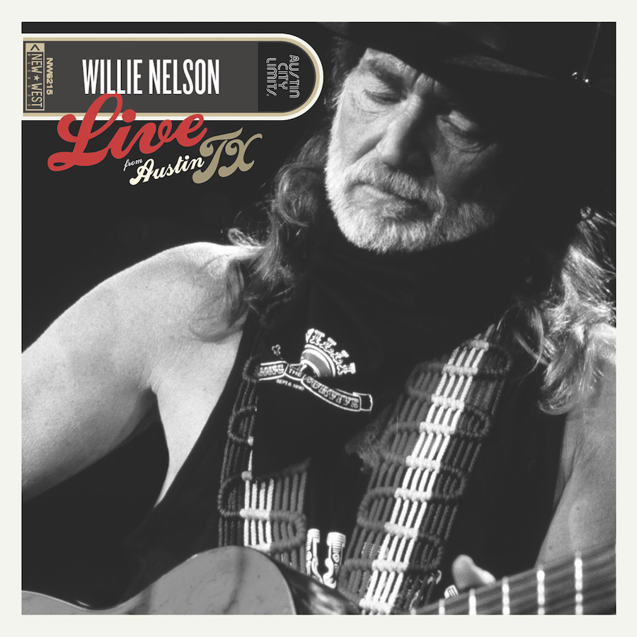 Willie Nelson - Live From Austin, TX [Clear w/ Red & Blue Splatter 2LP]