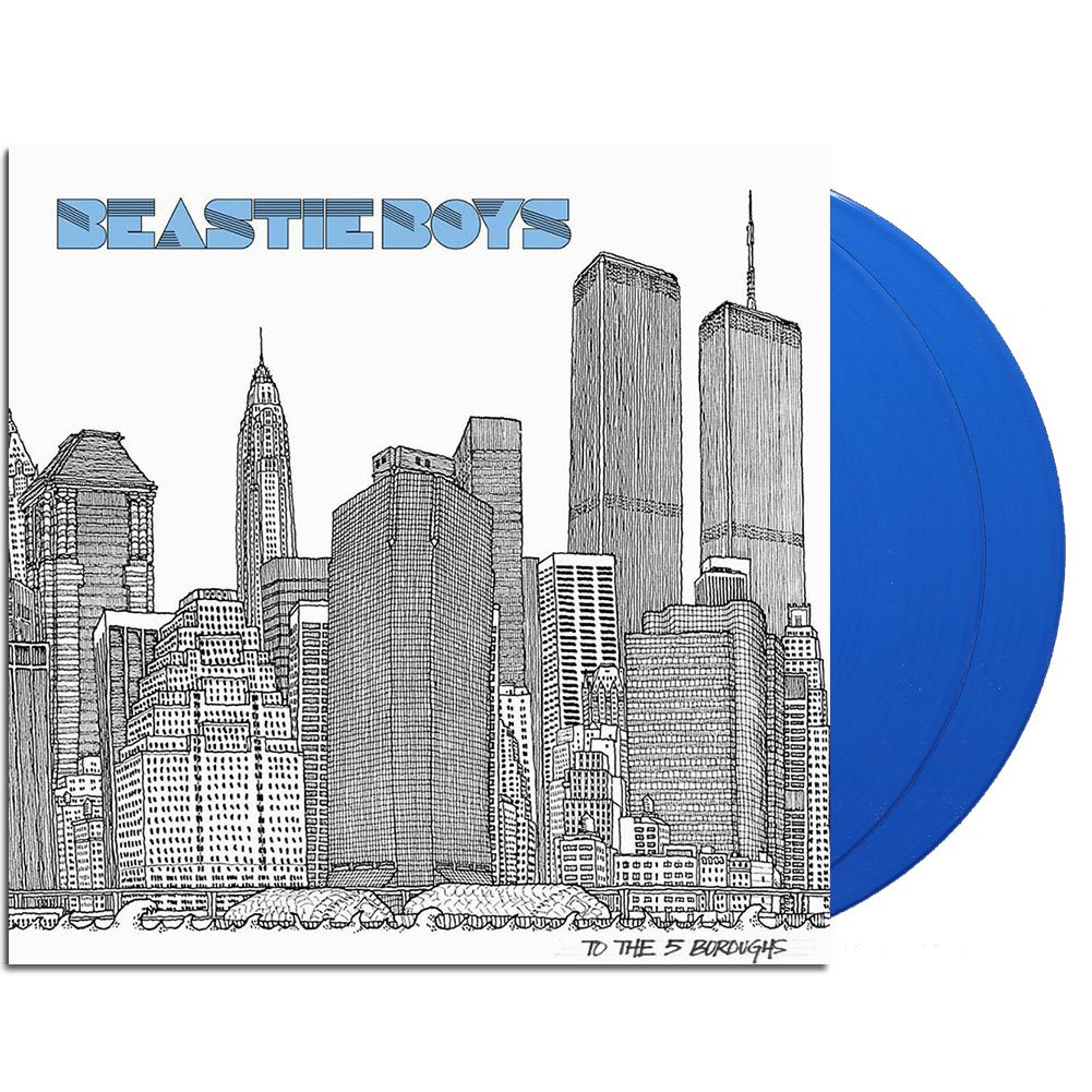 Beastie Boys - To The 5 Boroughs [Limited Edition Blue 2LP]