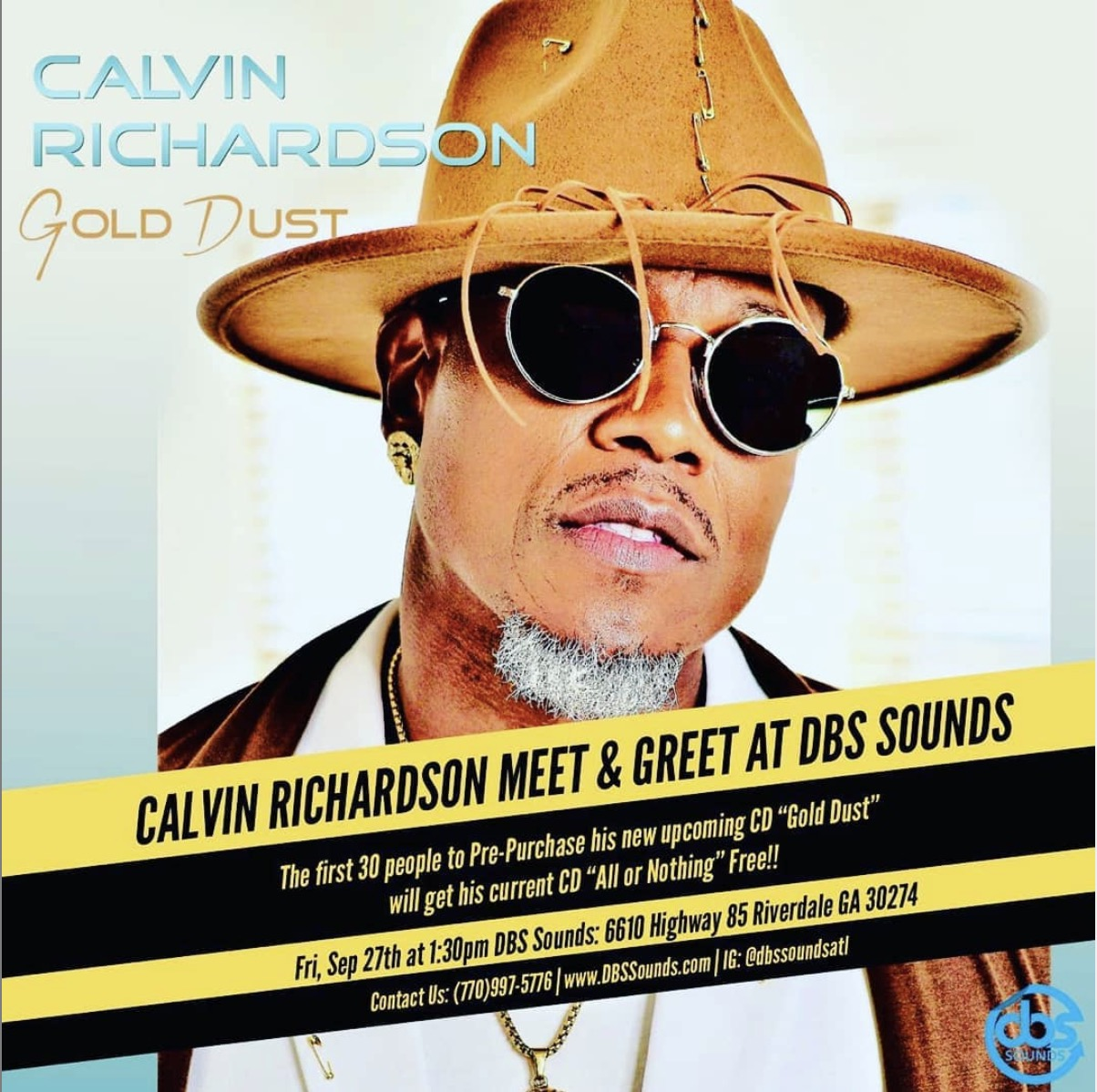 Calvin Richardson In-Store This Friday
