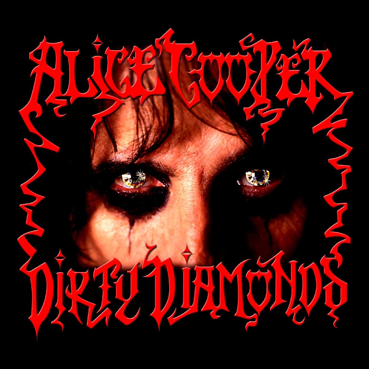 Alice Cooper - Dirty Diamonds [Red Colored Vinyl]