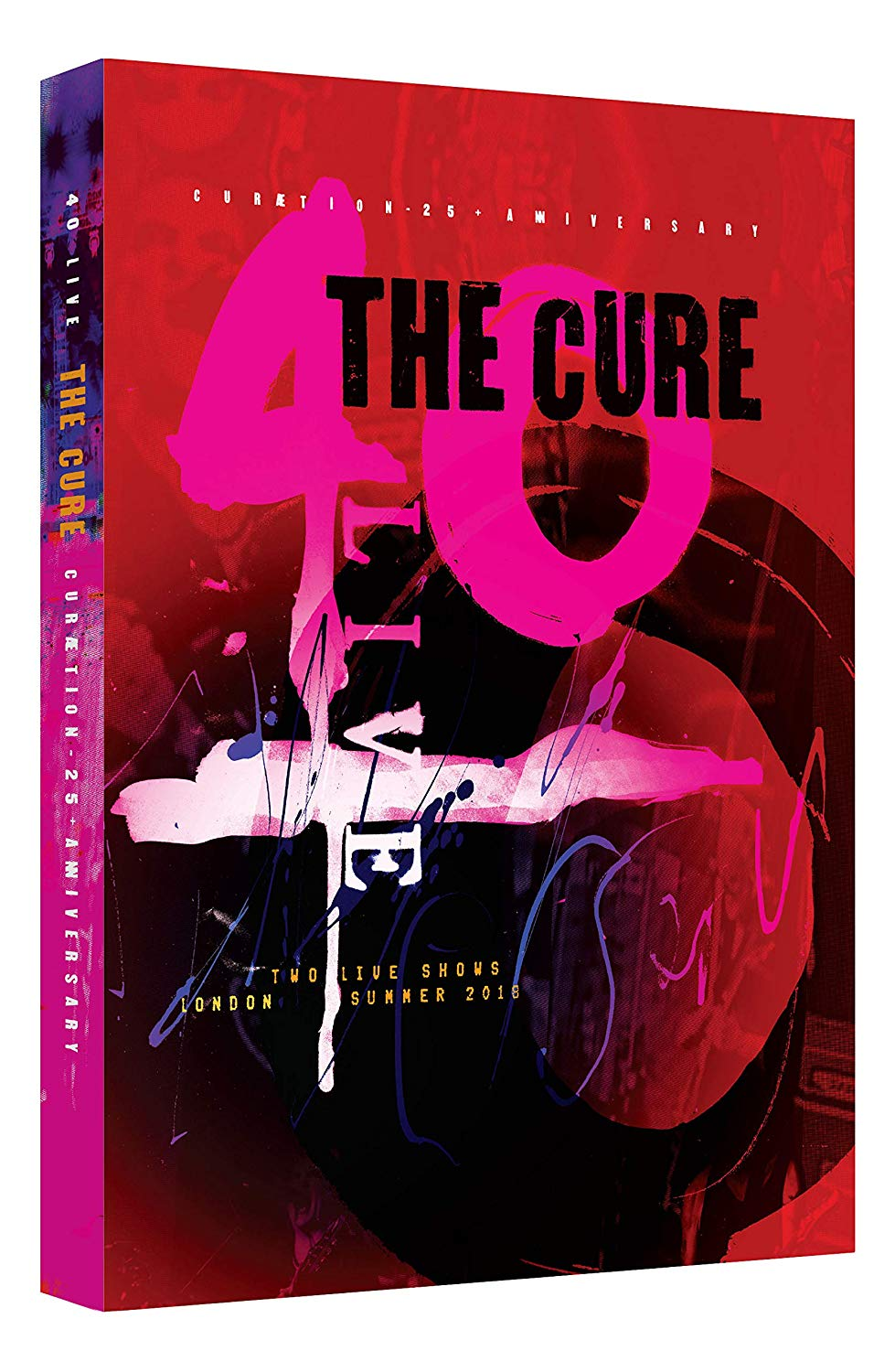 The Cure - 40 Live Curaetion 25 + Anniversary [Blu-ray]