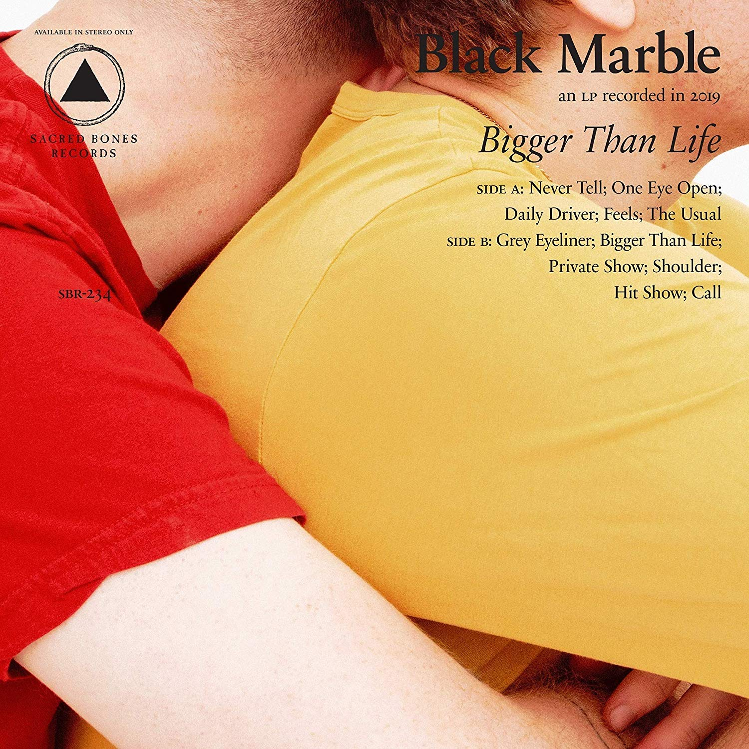 Black Marble - Bigger Than Life [LP]