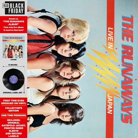 The Runaways - Live in Japan [RSD BF 2019]