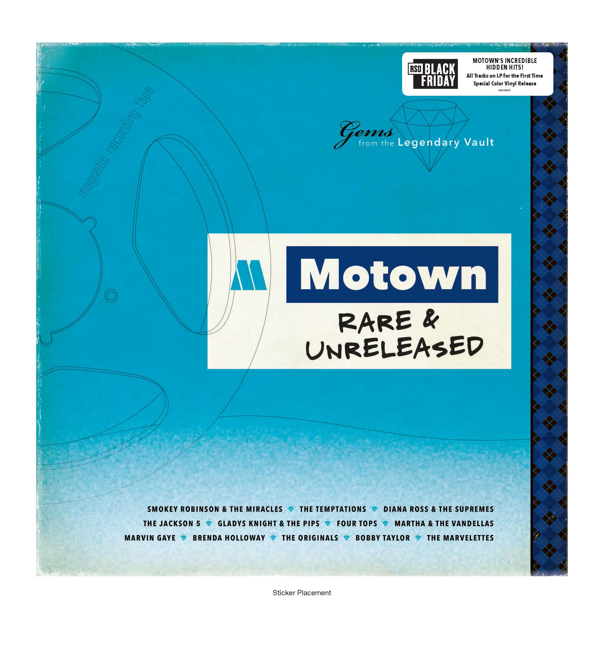 Various Artists - Motown Rare & Unreleased [RSD BF 2019]
