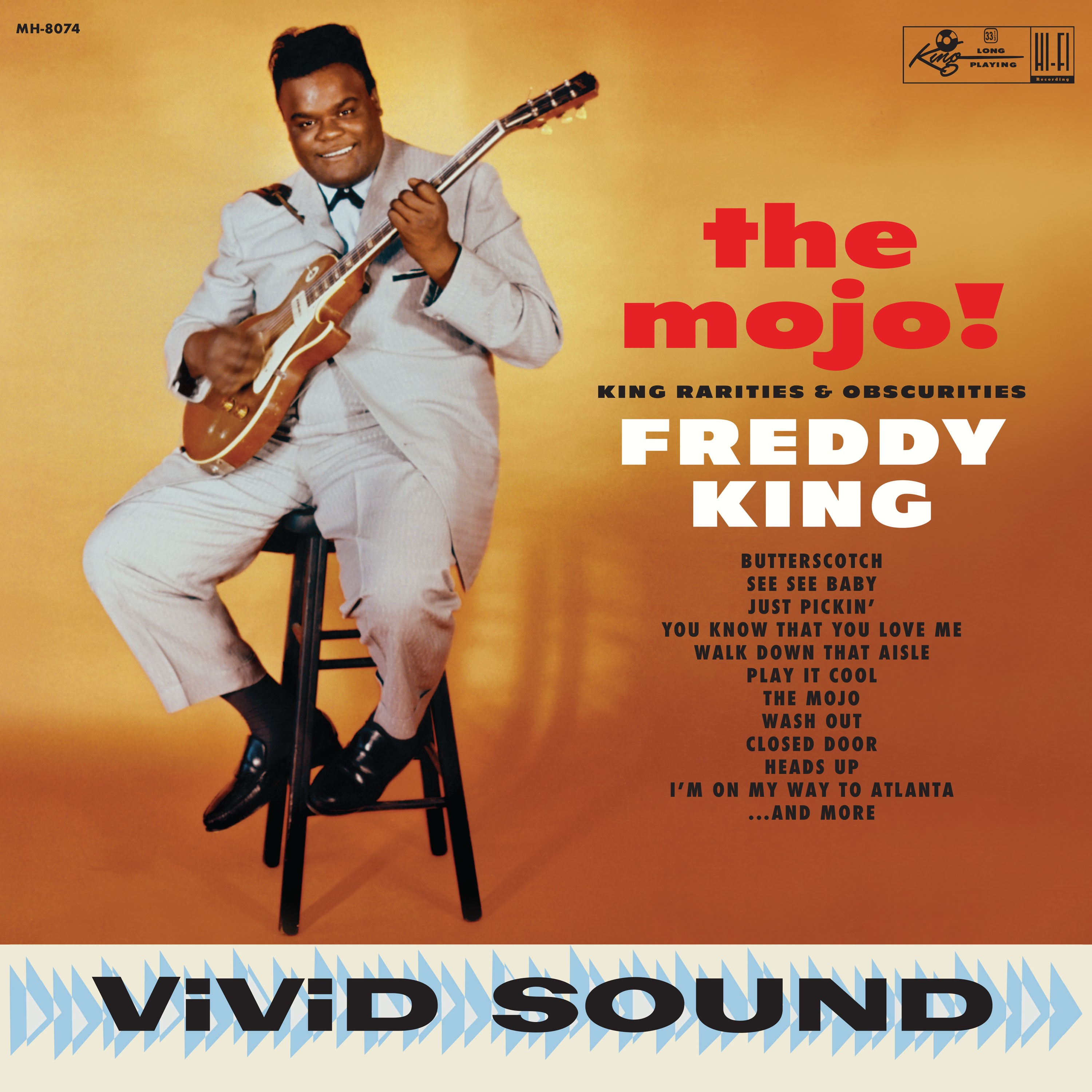 Freddy King - The Mojo! King Rarities & Obscurities [RSD BF 2019]