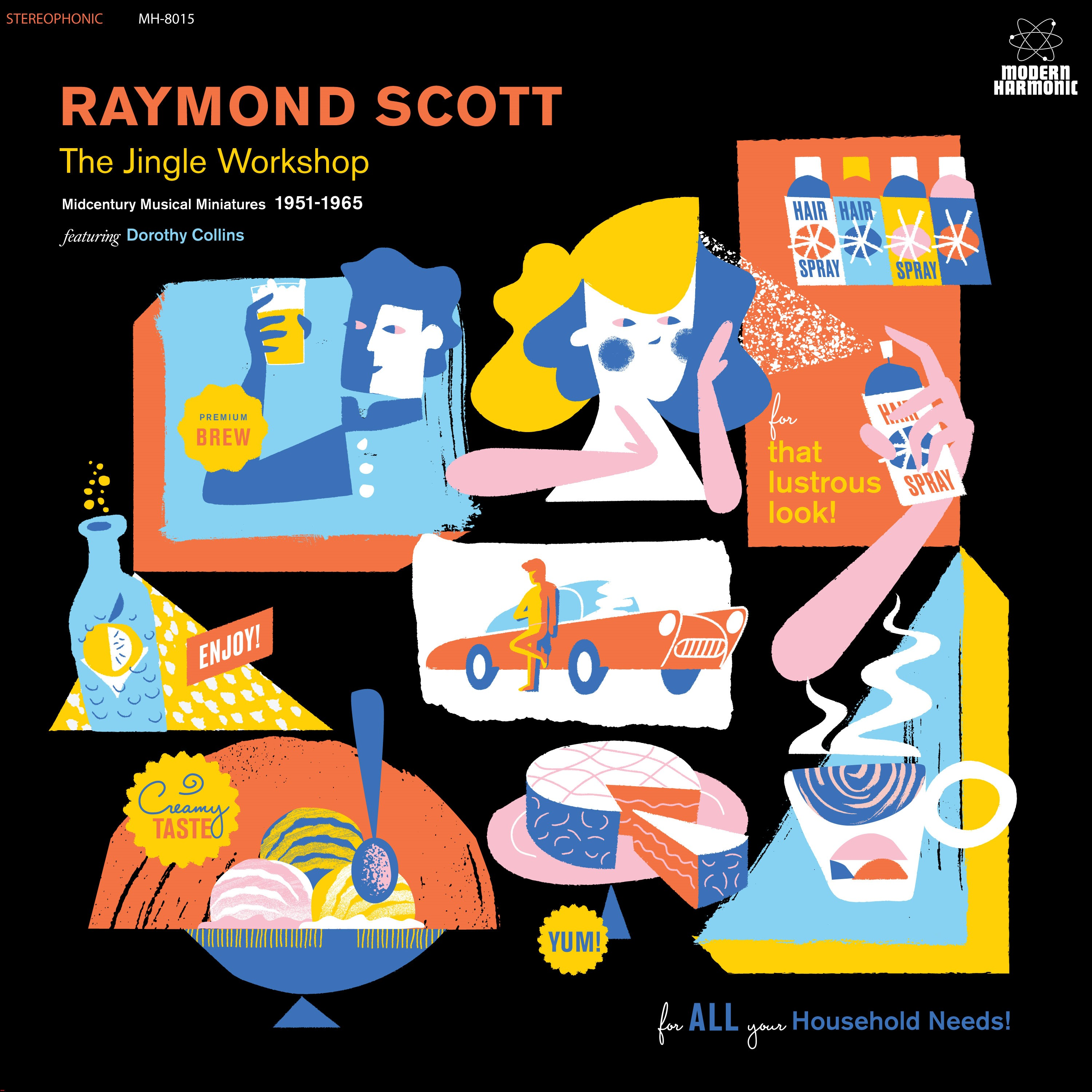 Raymond Scott - The Jingle Workshop: Midcentury Musical Miniatures 1951-1965 [RSD BF 2019]
