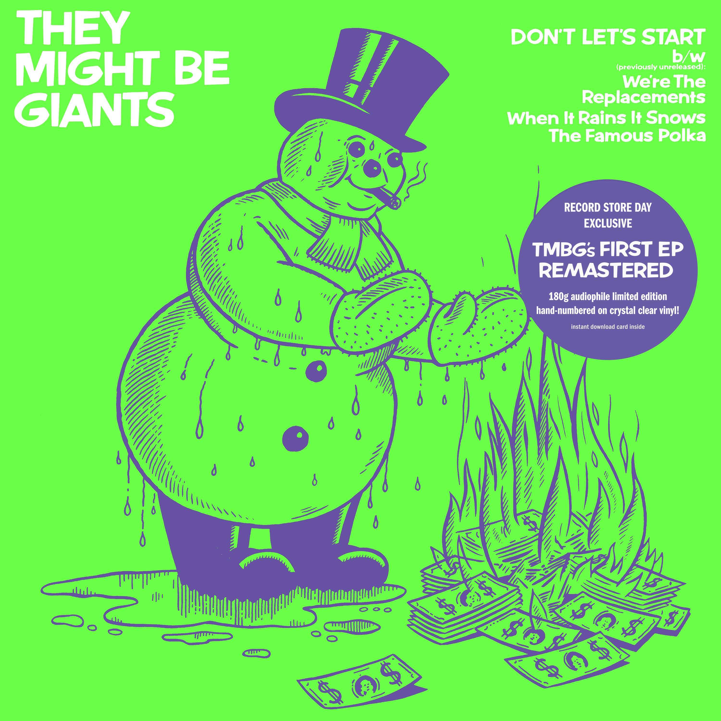 They Might Be Giants - Don't Let's Start [RSD BF 2019]