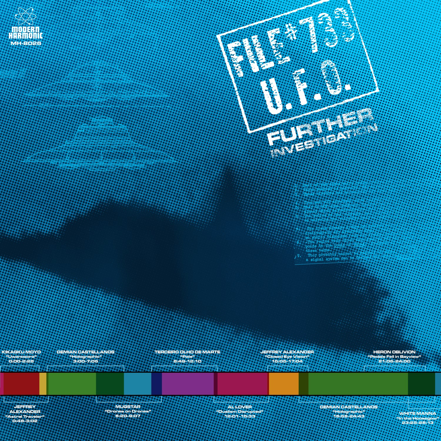 Various Artists - File #733 U.F.O. - Further Investigation [RSD BF 2019]
