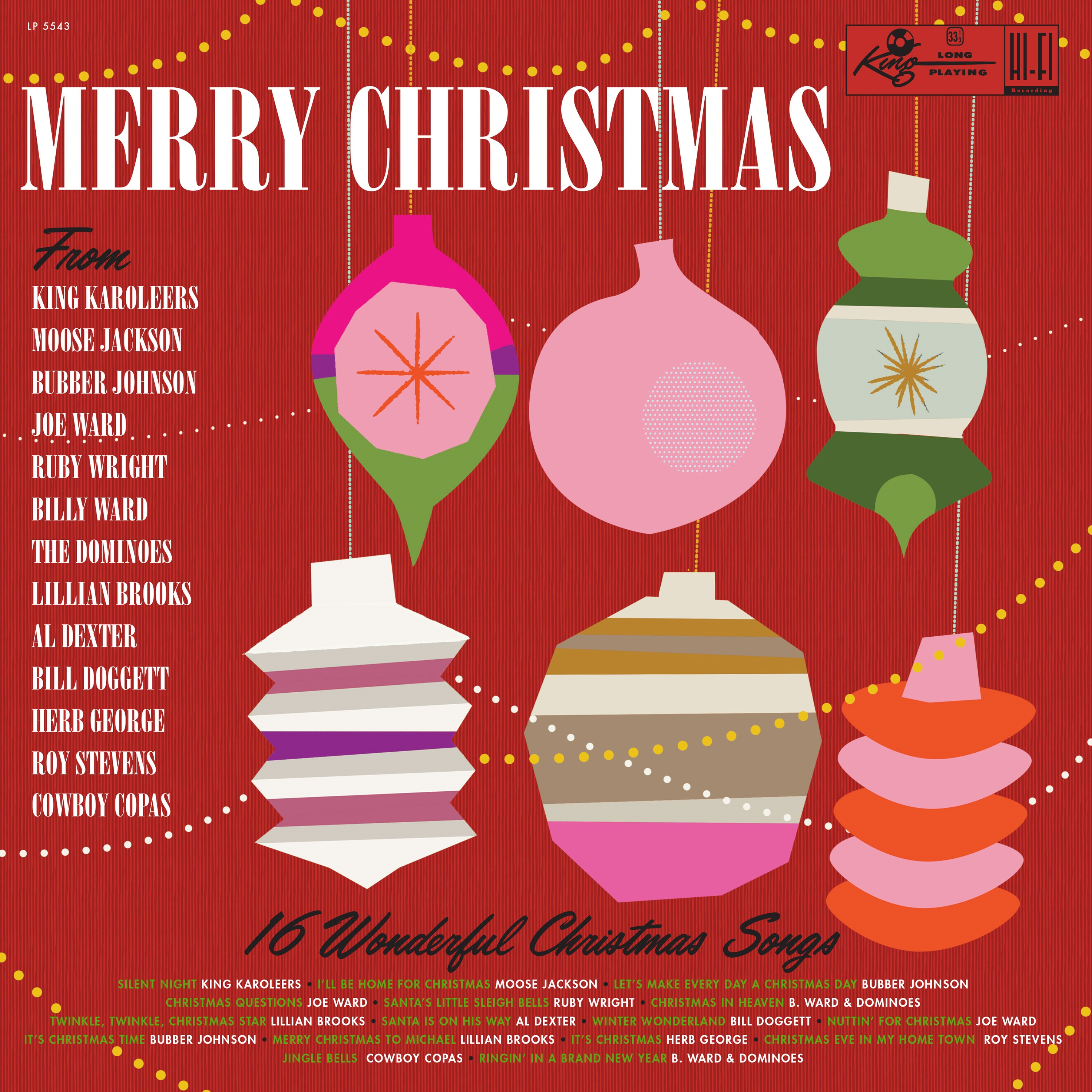 Various Artists - Merry Christmas From King Records  [RSD BF 2019]