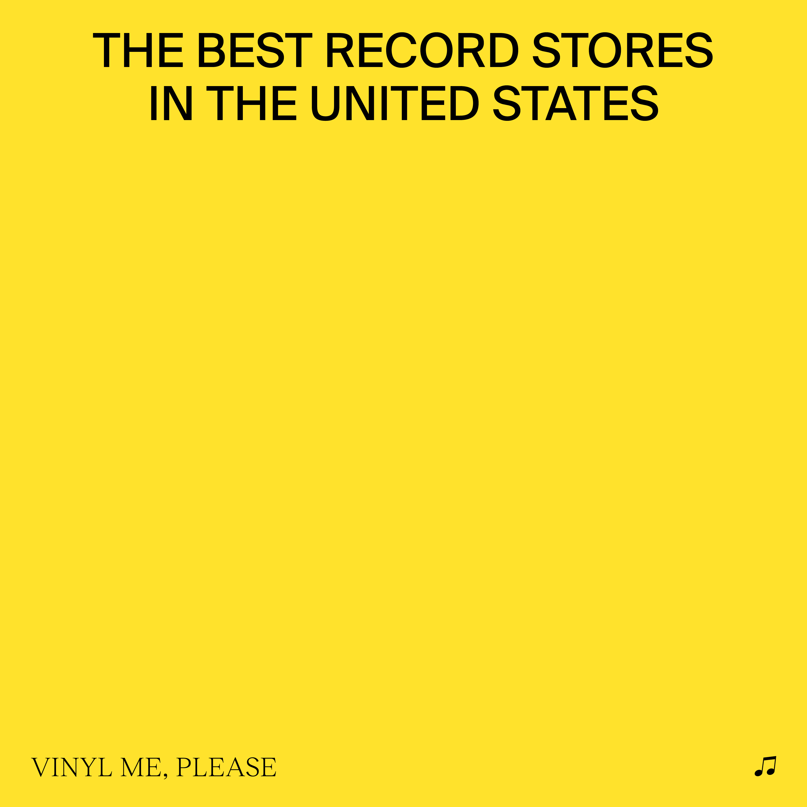 - The Best Record Stores in The United States [RSD BF 2019]