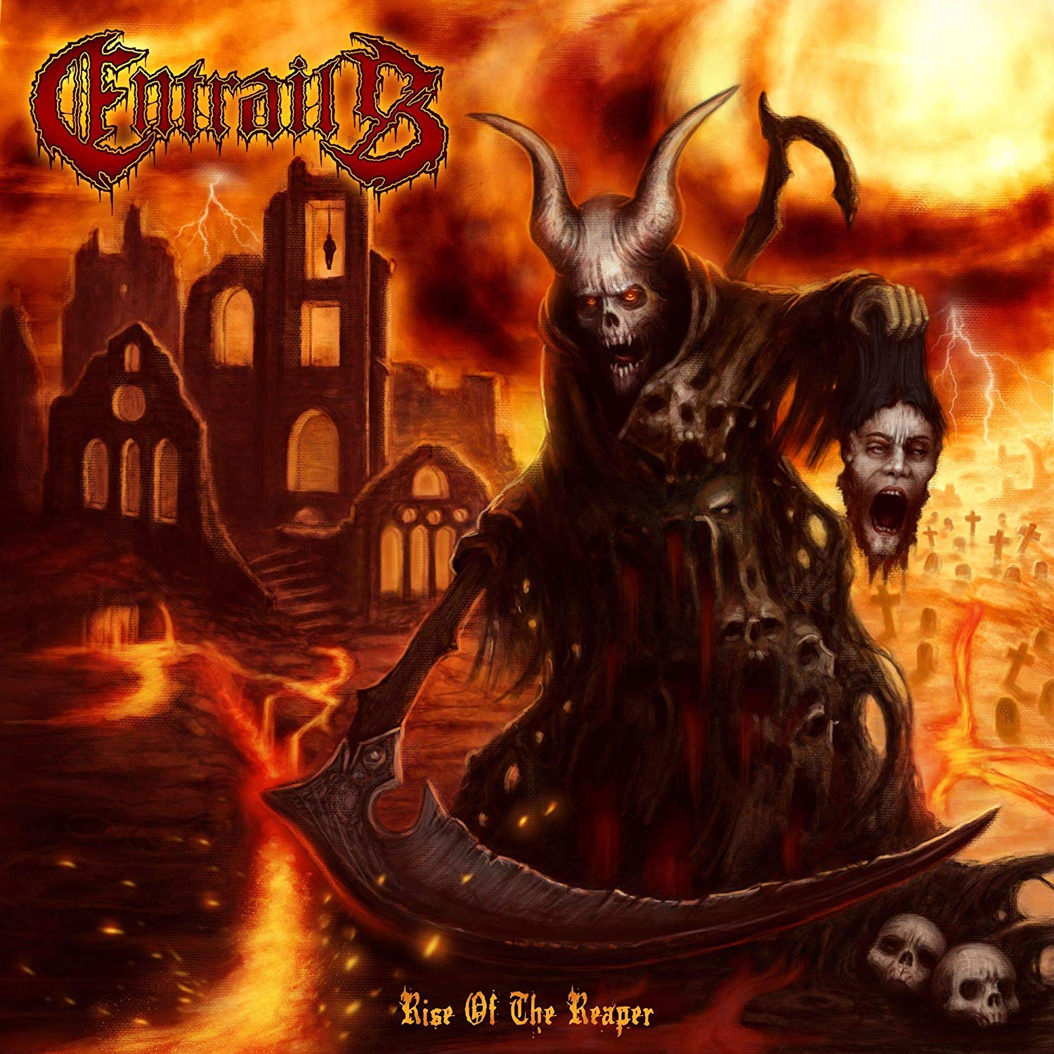 Entrails - Rise Of The Reaper [Import LP]