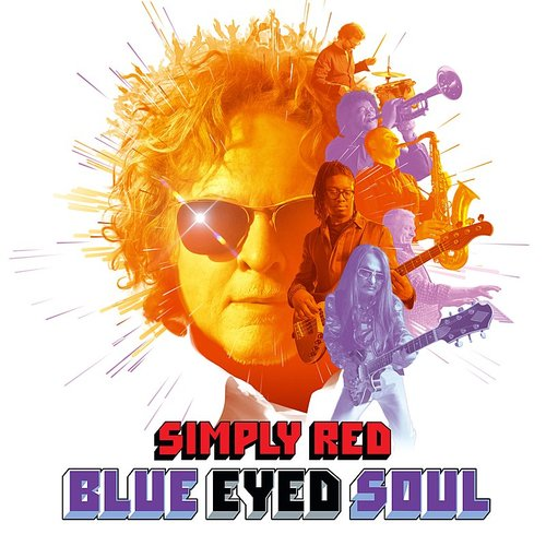 Simply Red - Blue Eyed Soul [Import Purple LP]