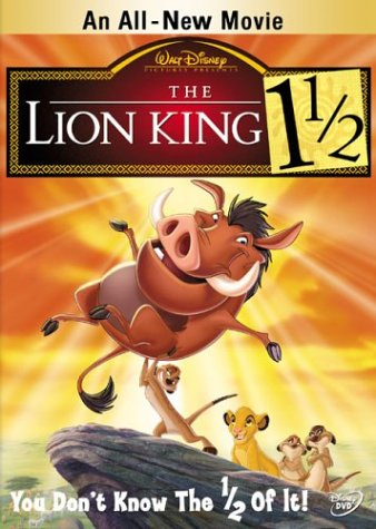 The Lion King [Disney] - The Lion King 1 1/2