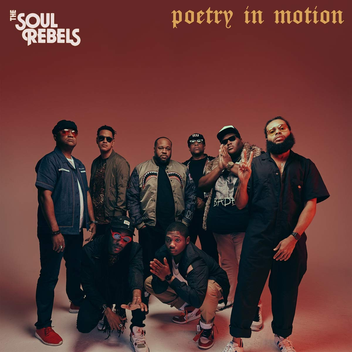 Soul Rebels - Poetry In Motion [Indie Exclusive Limited Edition Signed LP]