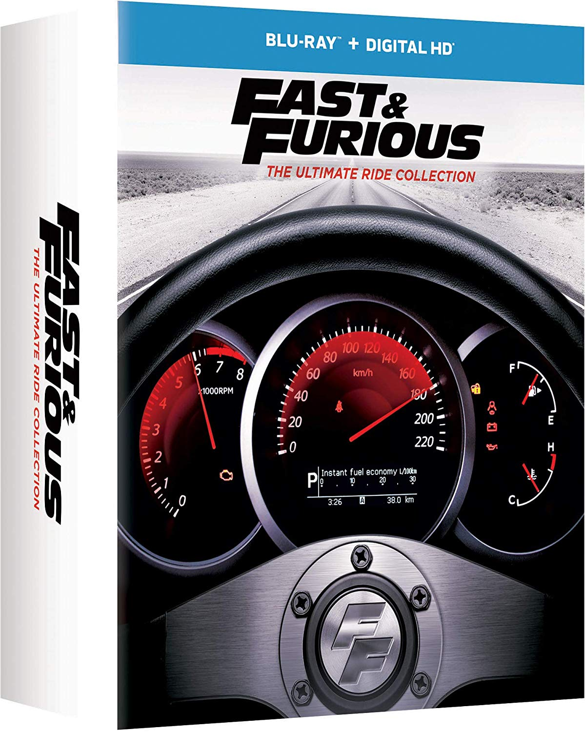 The Fast & The Furious [Movie] - Fast & Furious: The Ultimate Ride Collection