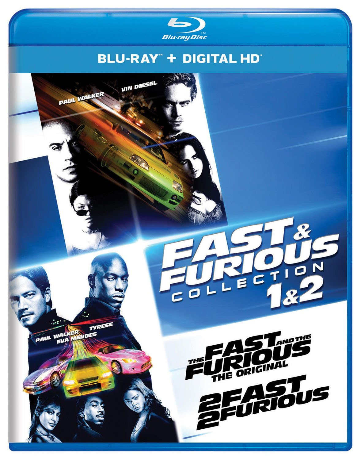 The Fast & The Furious [Movie] - Fast & Furious Collection: 1 & 2