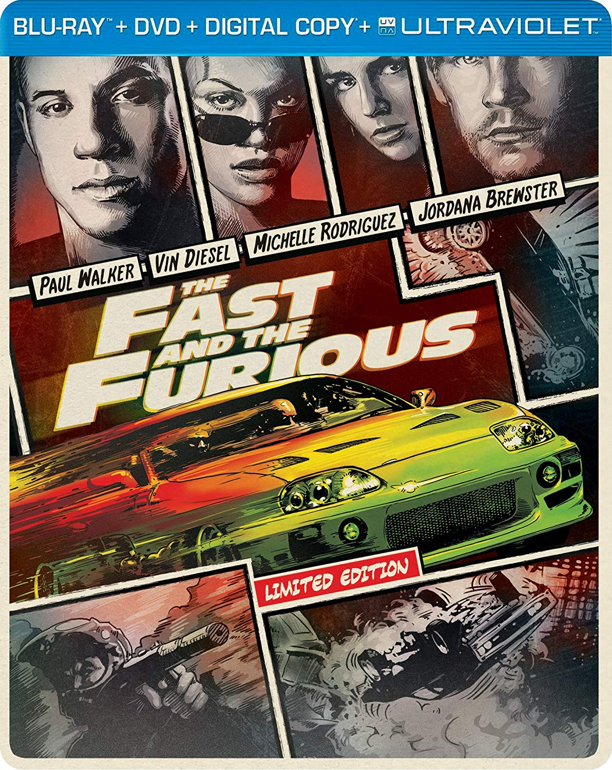 The Fast & The Furious [Movie] - The Fast and the Furious [Limited Edition]