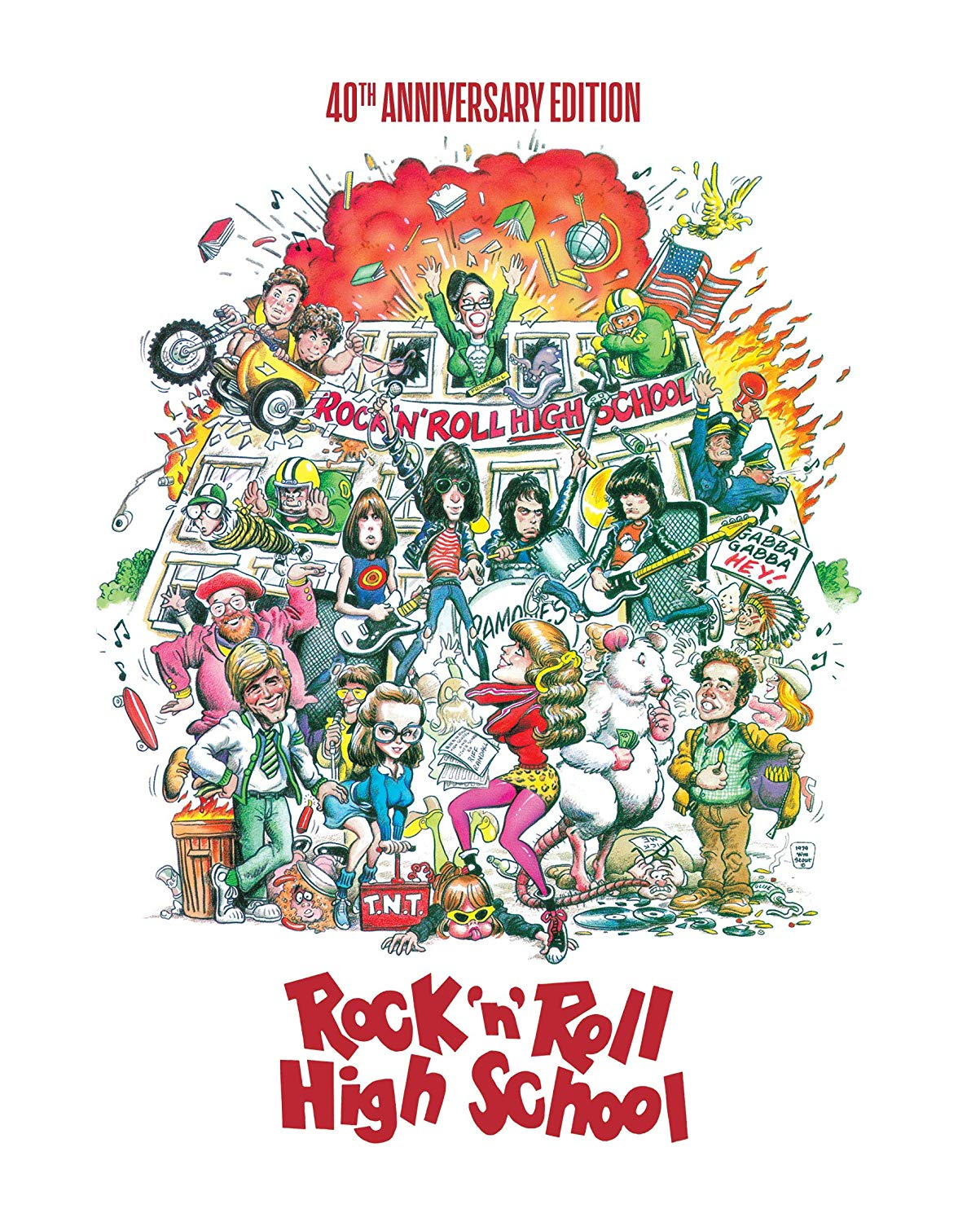 Rock 'N' Roll High School [Movie] - Rock 'N' Roll High School [40th Anniversary Edition Steelbook]