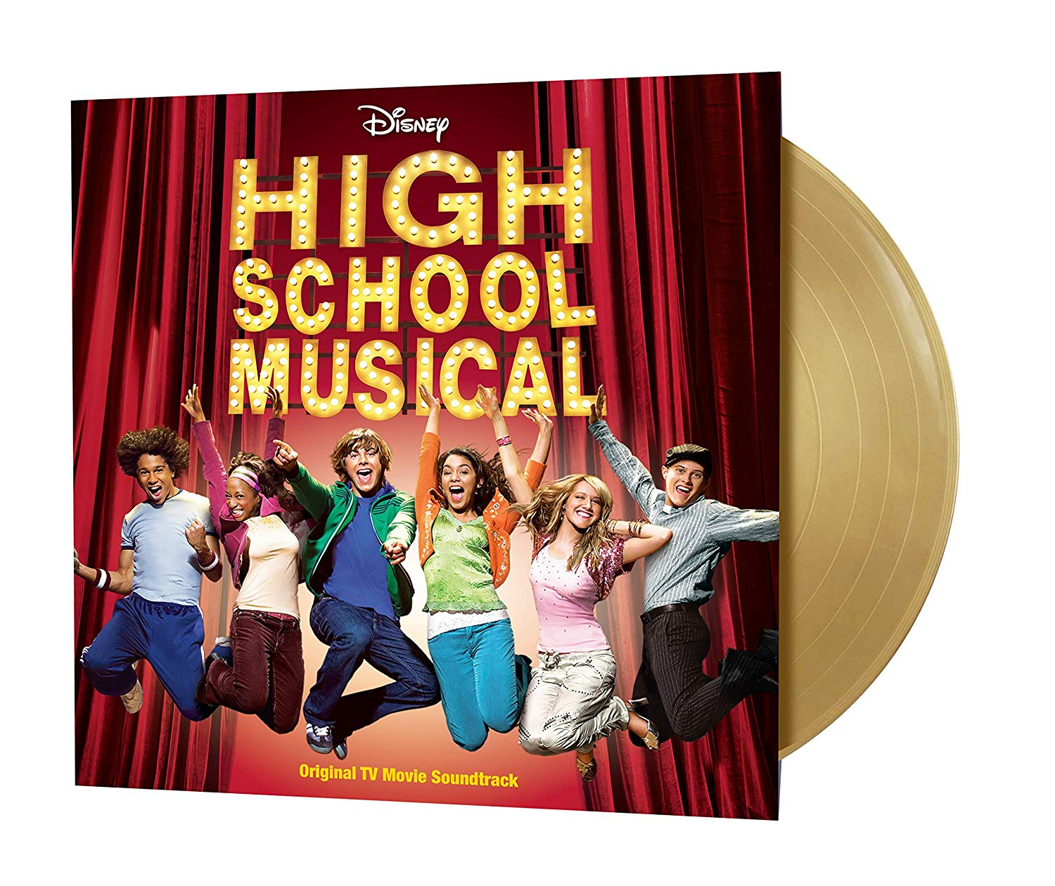 High School Musical - High School Musical Original TV Movie Soundtrack [Import Gold LP]