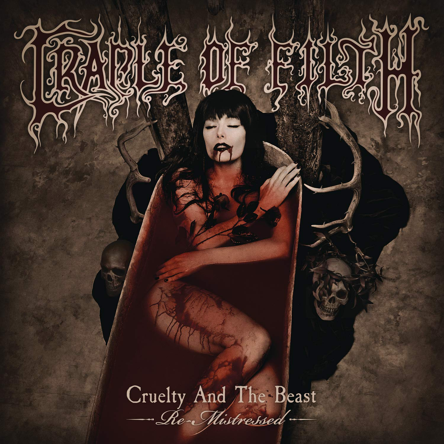Cradle Of Filth - Cruelty And The Beast - Re-Mistressed [Indie Exclusive Limited Edition Crystal Clear 2LP]