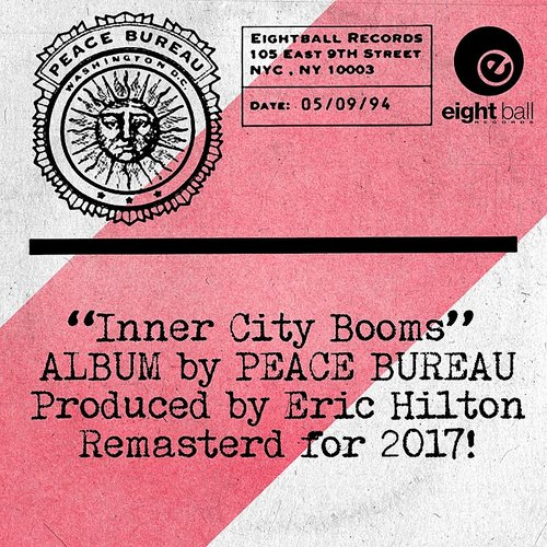 Eric Hilton - Peace Bureau Inner City Booms LP