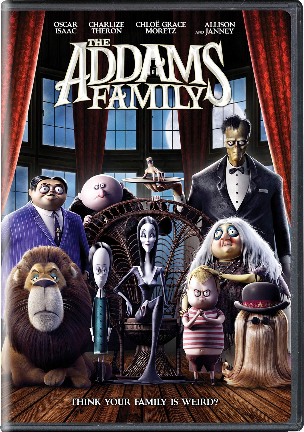 The Addams Family [Movie] - The Addams Family: Animated | Waterloo ...