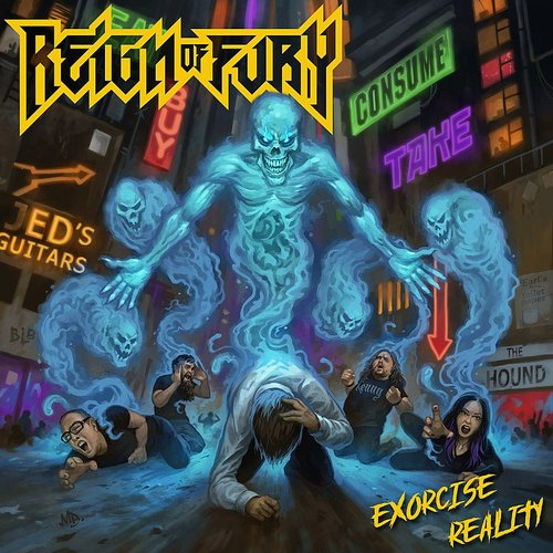 Reign of Fury - Exorcise Reality (Uk)