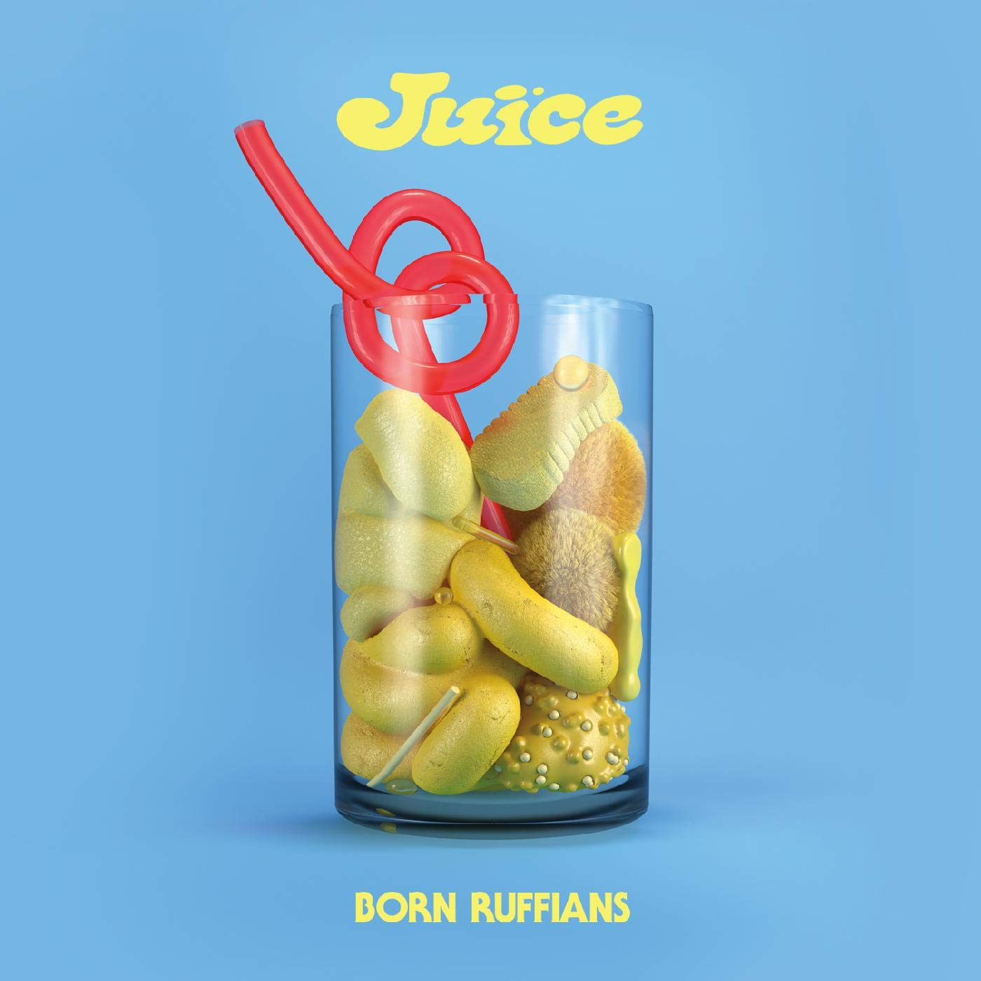 Born Ruffians - Juice [Yellow LP]