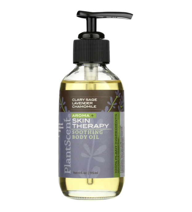 Oil Bath & Body - Clarysage, Lavender, Chamomile Soothing Body Oil