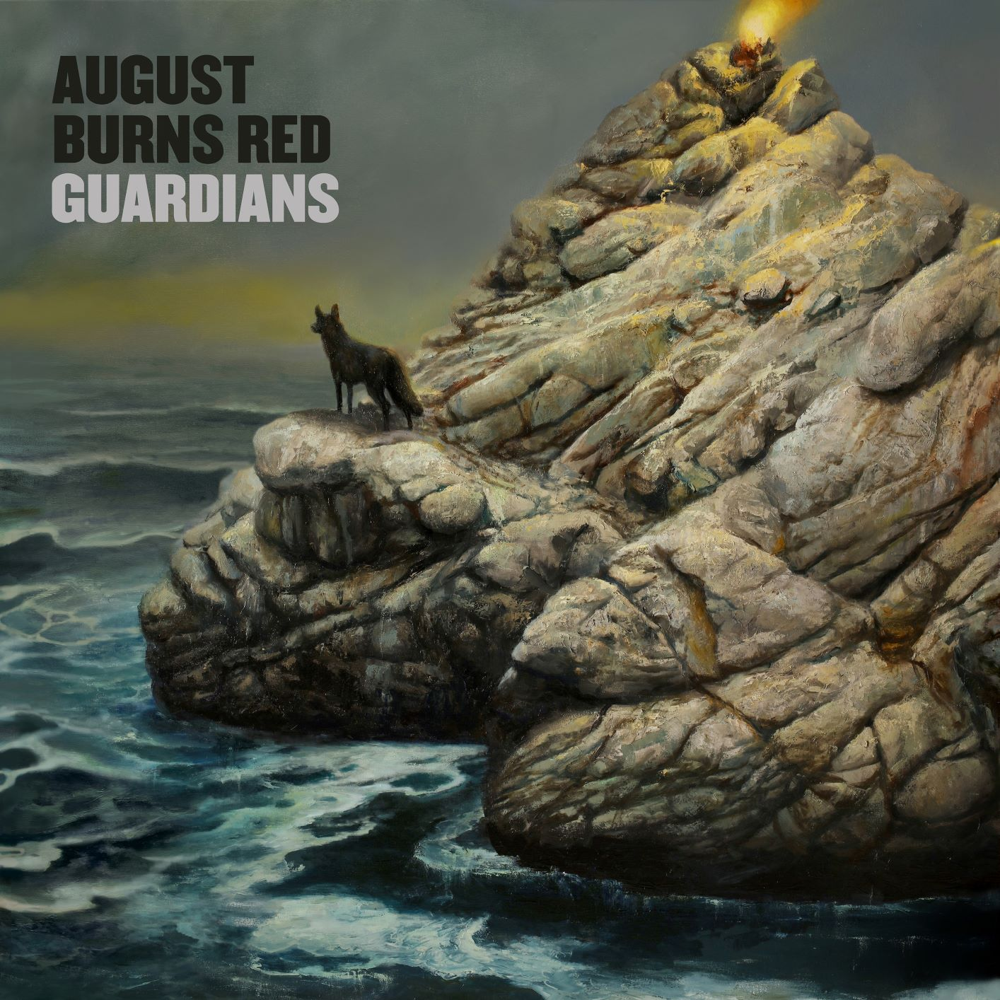 August Burns Red - Guardians [Indie Exclusive Limited Edition Translucent Blue w/ Black LP]