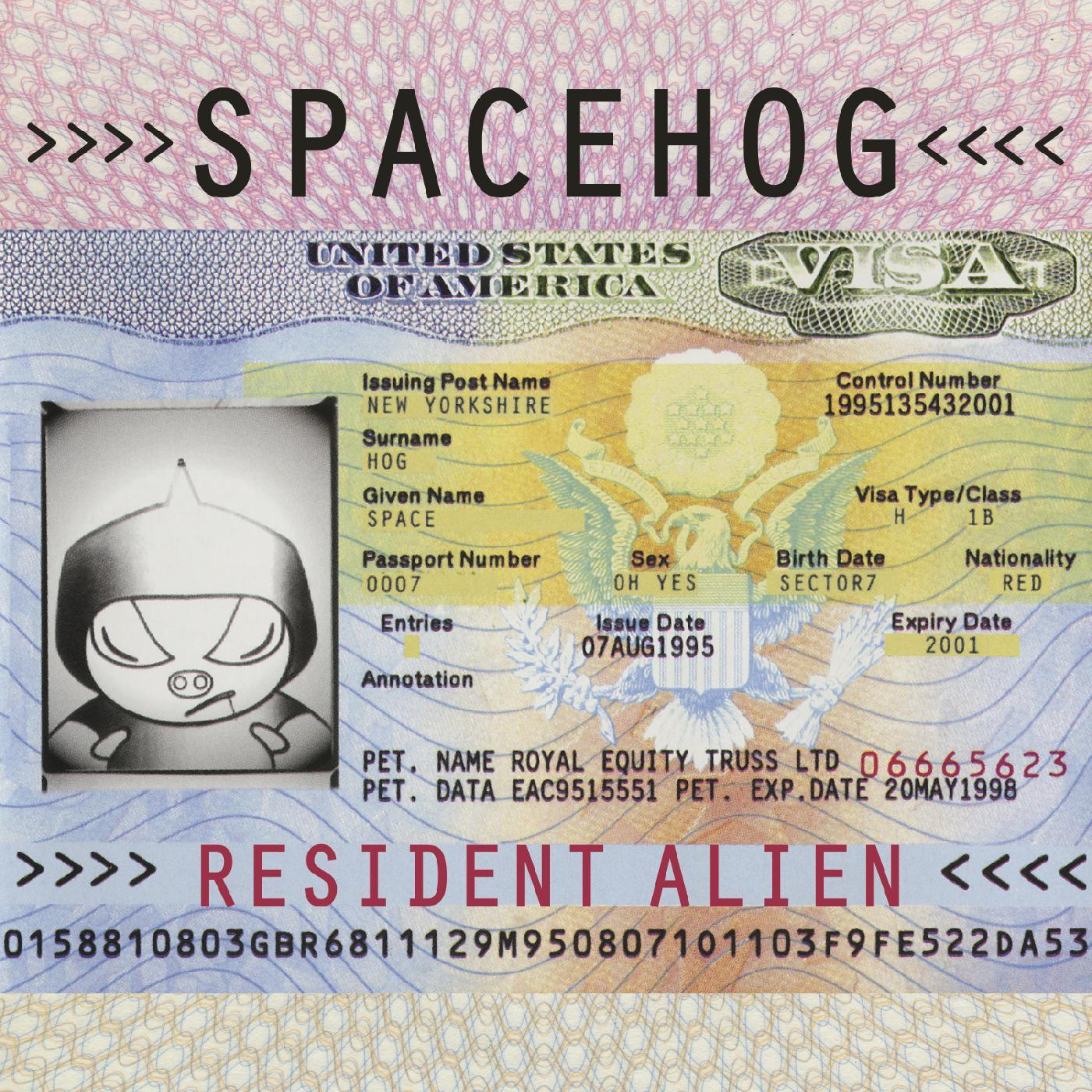 Spacehog - Resident Alien [RSD Drops Aug 2020]