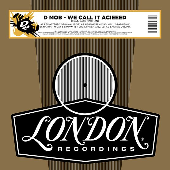 D-Mob - We Call It Acieed [RSD Drops Aug 2020]