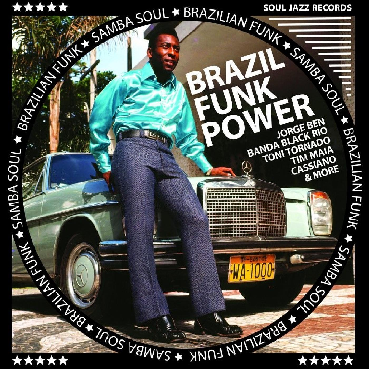 Various Artists - Brazil Funk Power - Brazilian Funk & Samba Soul [RSD Drops Aug 2020]