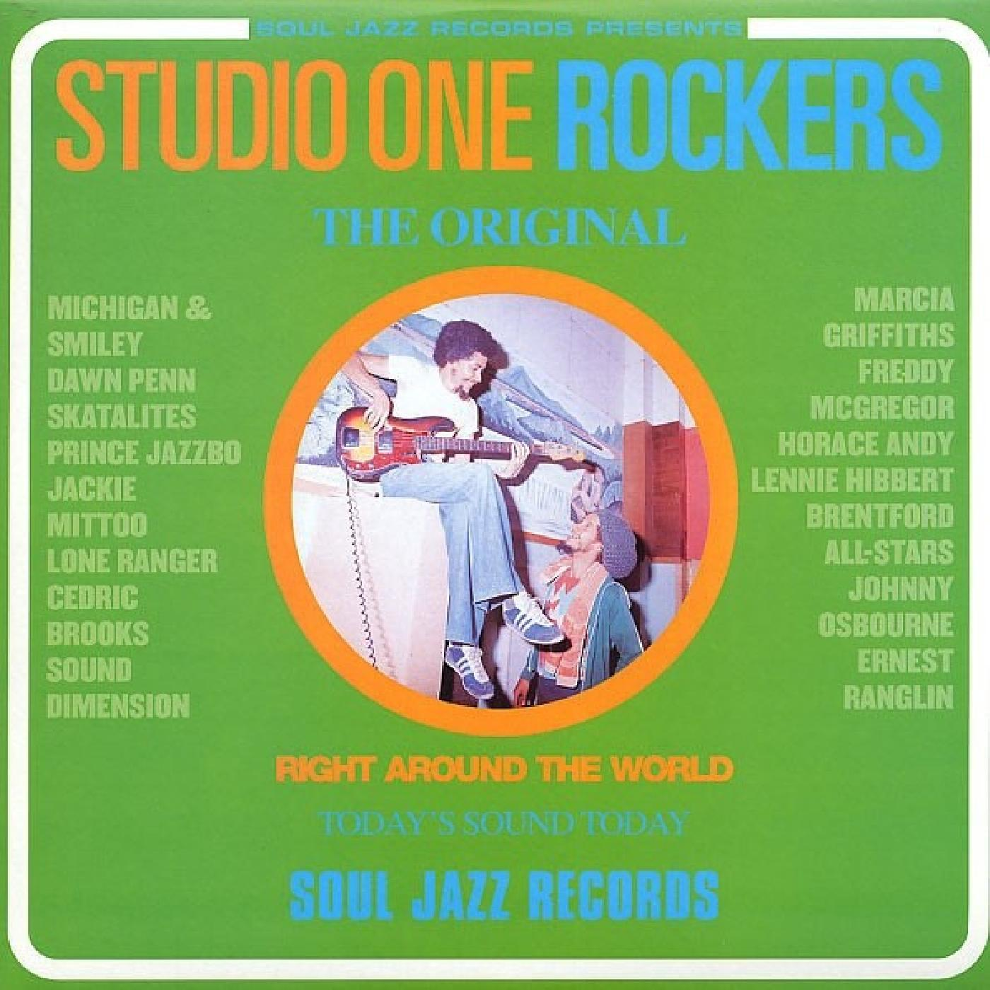 Soul Jazz Records Presents - STUDIO ONE Rockers [RSD Drops Aug 2020]