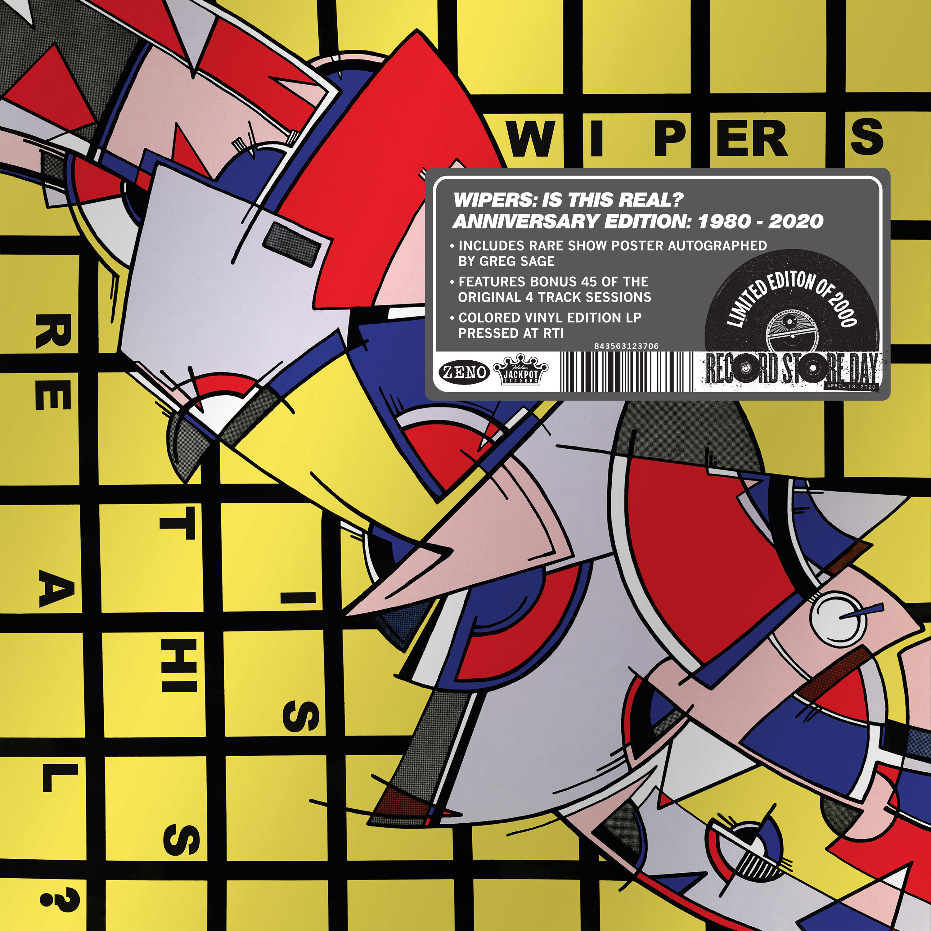 Wipers - Is This Real--Anniversary Edition [RSD Drops Aug 2020]