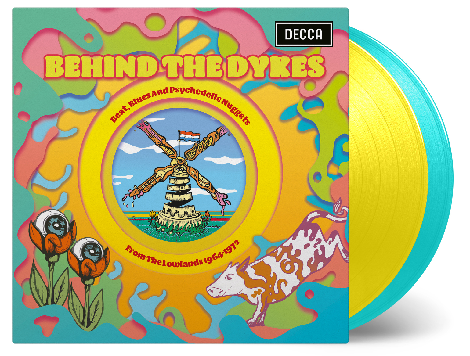 Various Artists - Behind The Dykes: Beat, Blues and Psychedelic Nuggets from The Lowlands 1964-1972 [RSD Drops Sep 2020]