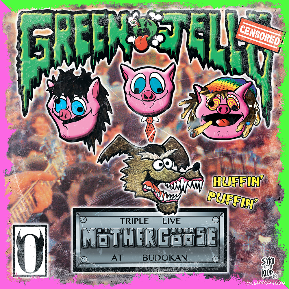 Green Jelly - Triple Live Mother Goose At Budokan [RSD Drops Aug 2020]
